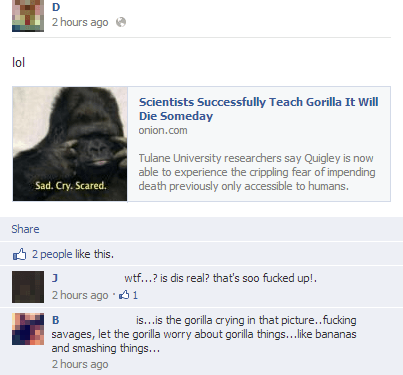Literally Unbelievable Gorilla Learns About Death