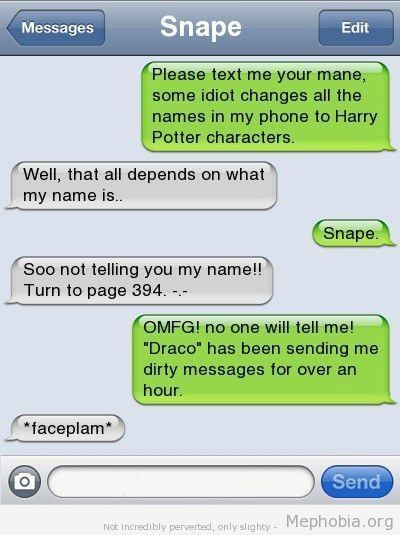 Name Changes Text Prank