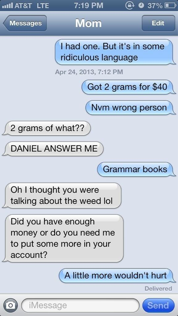 Nathan Fielder Drugs Text Prank