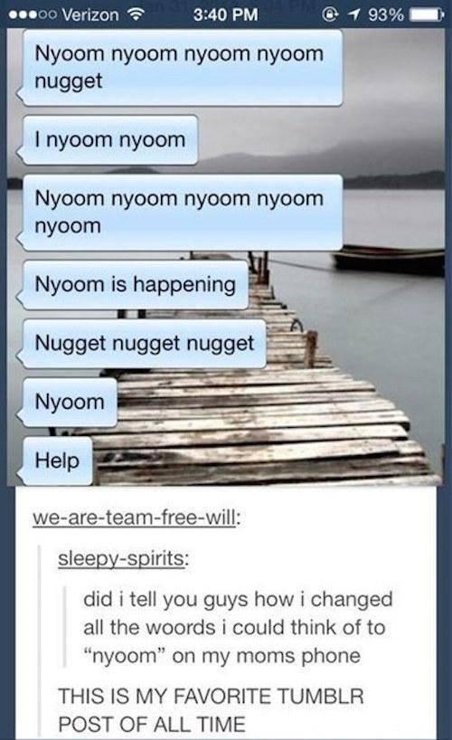 Nyoom Nyoom Nyoom