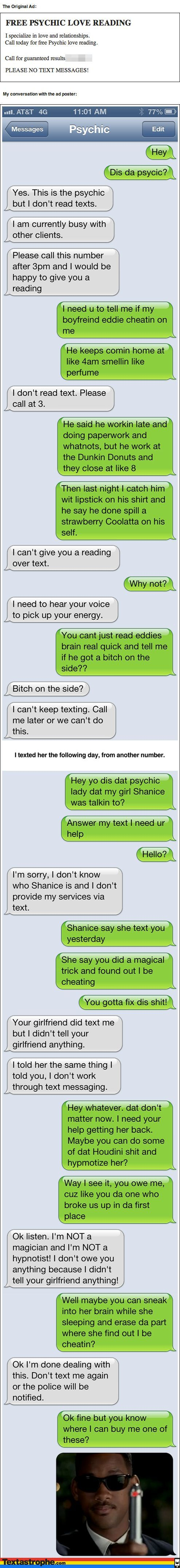 Psychic Prank