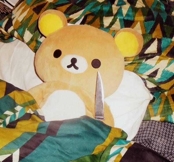 Stabby Teddy Bear