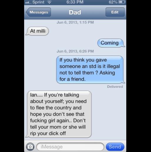 Text Pranks STD
