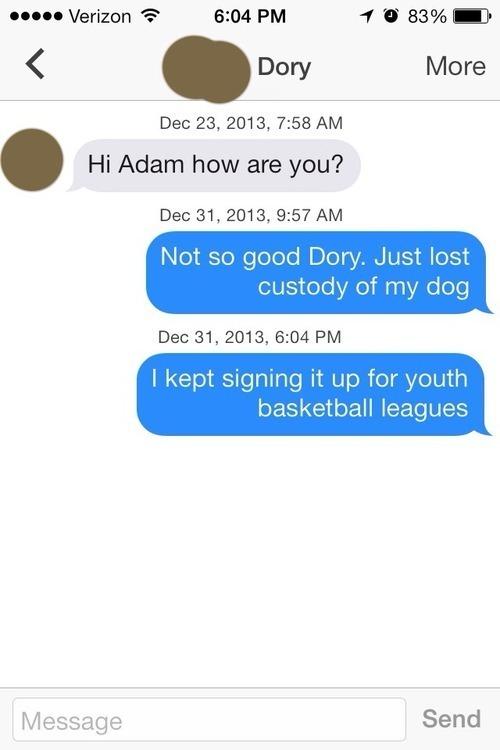 Tinder Text Prank