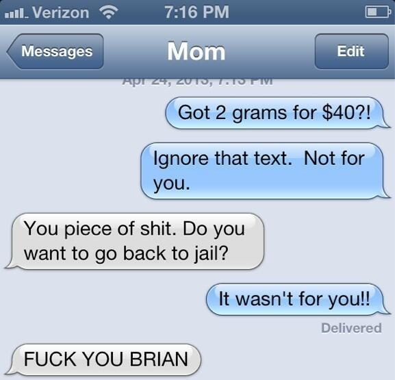 Two Grams Text Pranks