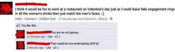 Valentine's Day Prank