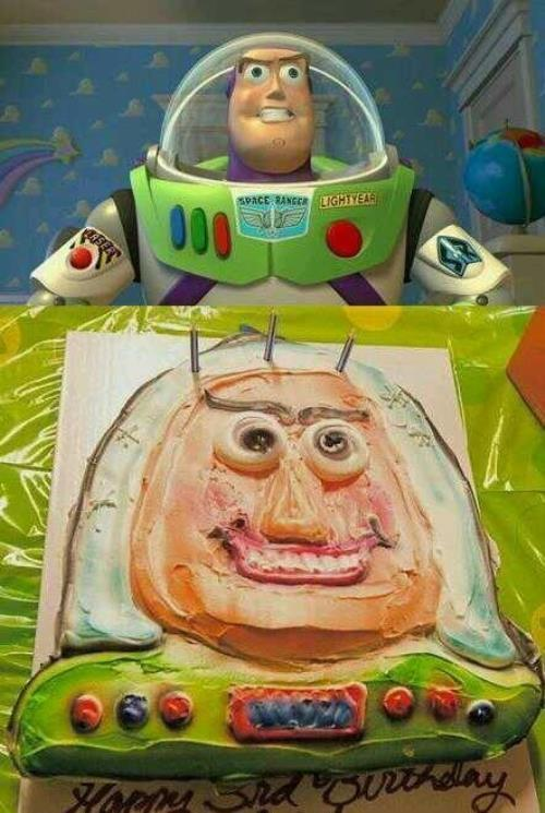 Buzz Lightyear Cake Nailed It