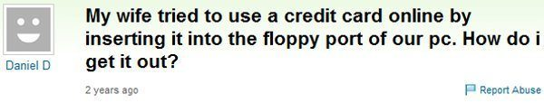 Credit Card Floppy Drive