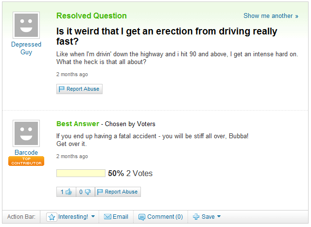 Driving While Stiff