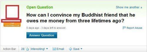 Genius Yahoo Questions