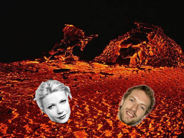 Gwyneth Paltrow And Chris Martin Fiery Abyss