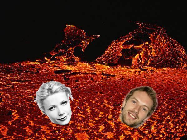 Gwyneth Paltrow And Chris Martin Fiery Abyss