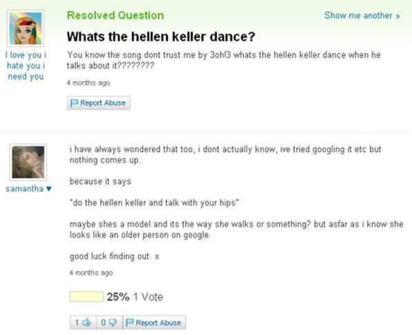 Hellen Keller Dance