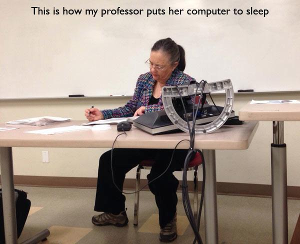 Putting The Computer To Sleep