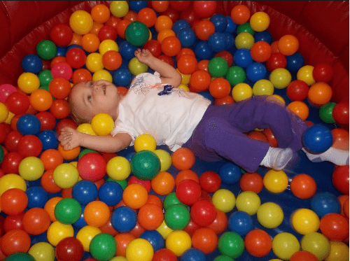 Chuck E. Cheese Ball Pit