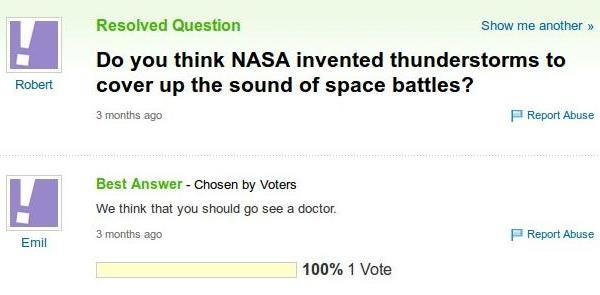 Space Battles Invented By NASA