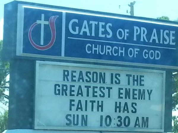The Enemy Of Faith