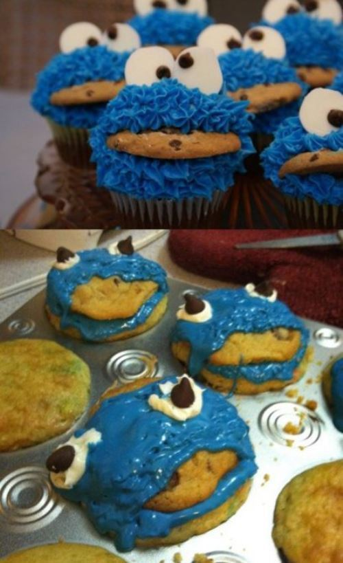Cookiemonster Cookie Fail