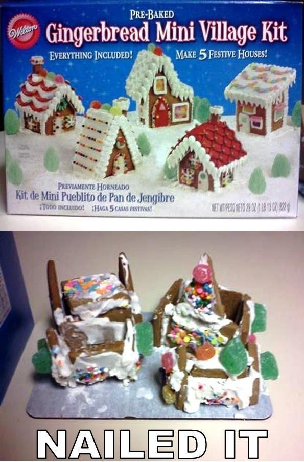 Gingerbread House Nailed It