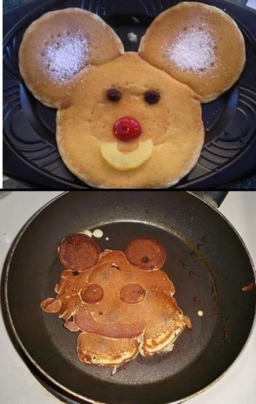 Happy Pancake Fail