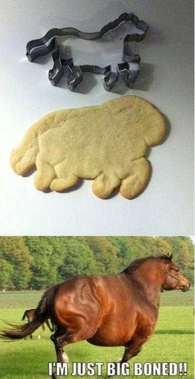 Horse Shaped Cookies