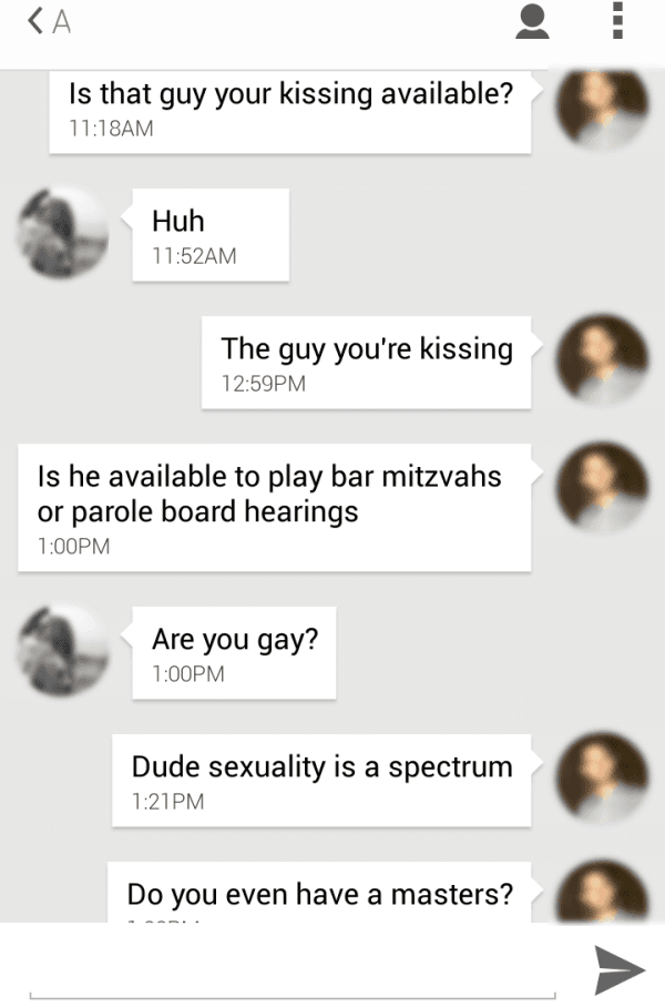 Kissing Guy Available