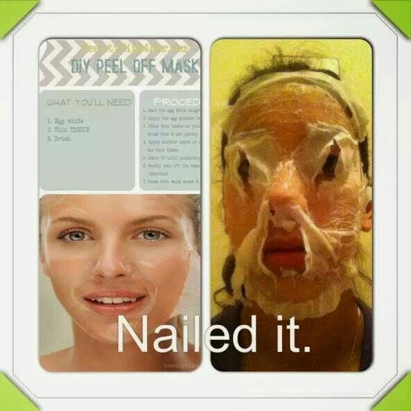 Pinterest Face Mask Nailed It