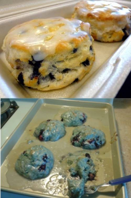Pinterest Nailed It Blueberry Scones