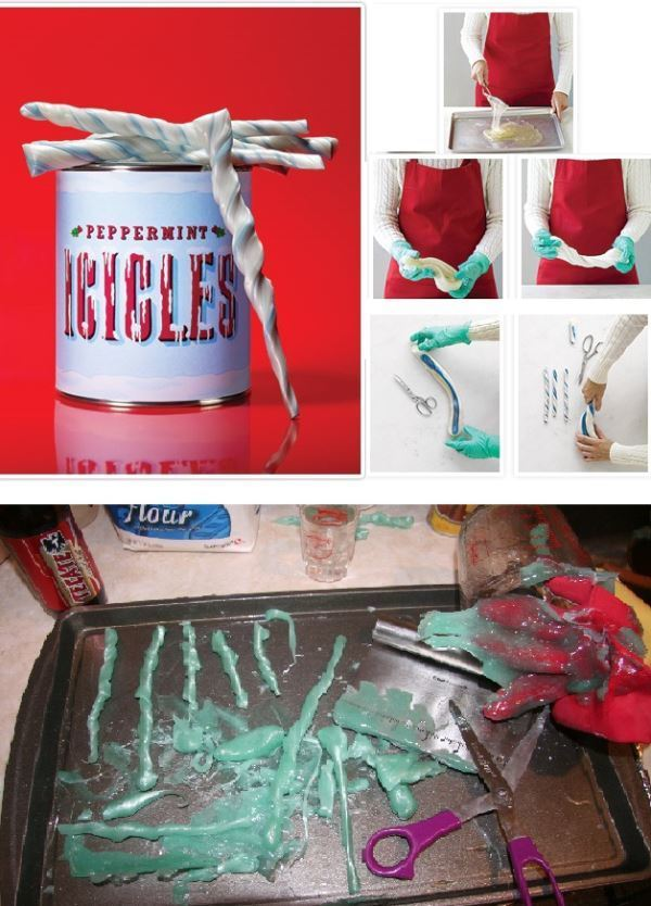 Pinterest Nailed It Peppermint Icicles