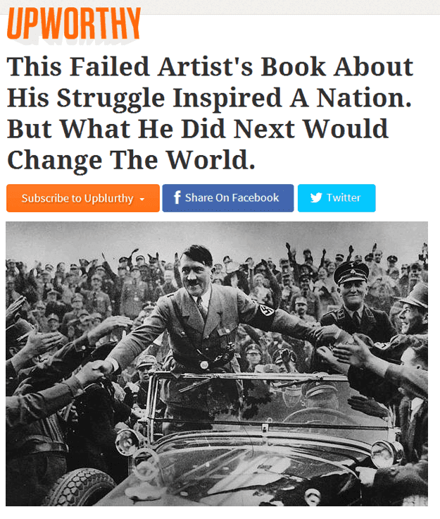 Upworthy Hitler