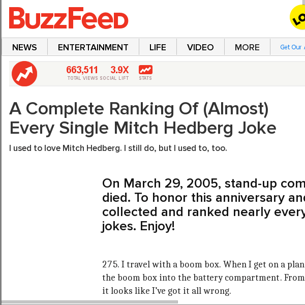 Buzzfeed Articles