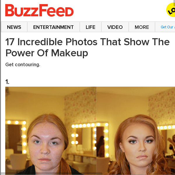 17 Incredible Pictures That Prove All Woman Should Wear A Pile Of Make Up To Be Considered Attractive