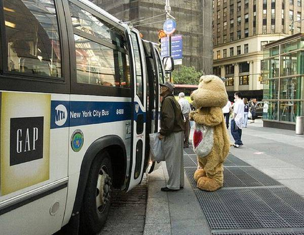 Care Bear Bus Rider