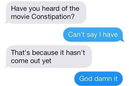 Dad Jokes Constipation