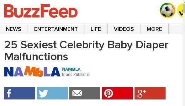 25 Sexiest Celebrity Baby Diaper Malfunctions Sponsored By NAMBLA