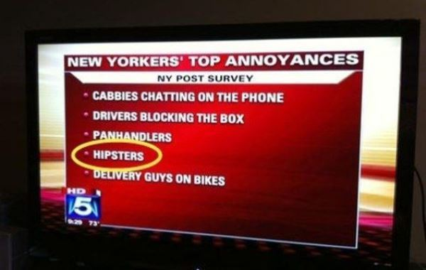 What Annoys New Yorkers