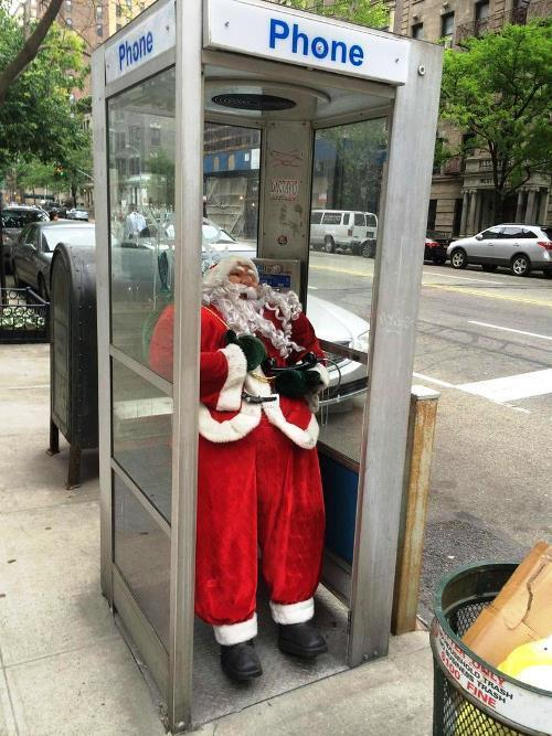 Santa Only In New York