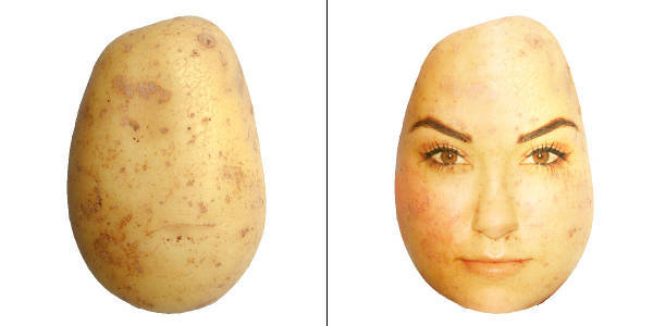 Sasha Grey As A Potato