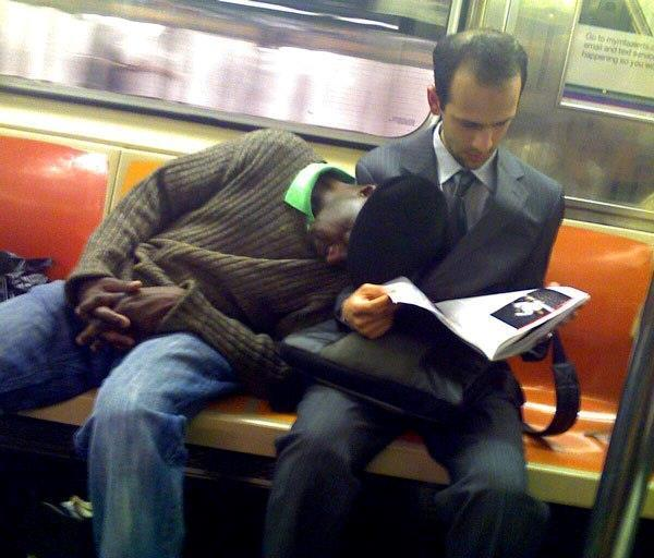 Subway Sleep