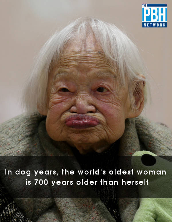 The Worlds Oldest Woman