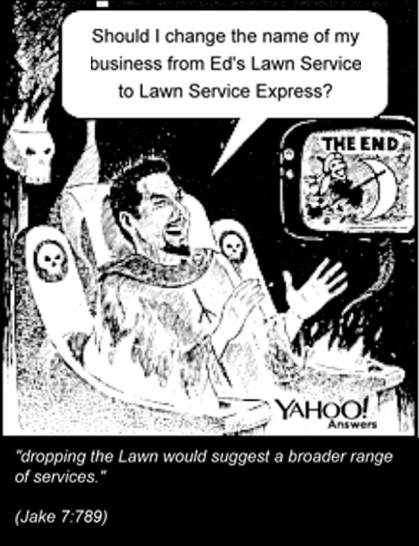 Eds Lawn Service Yahoo Answers