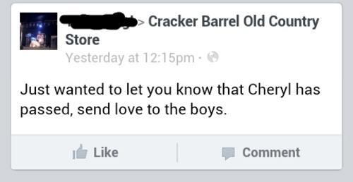 cheryl-died