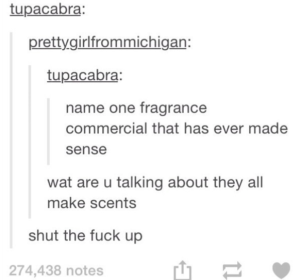 Fragrance Makes Sense