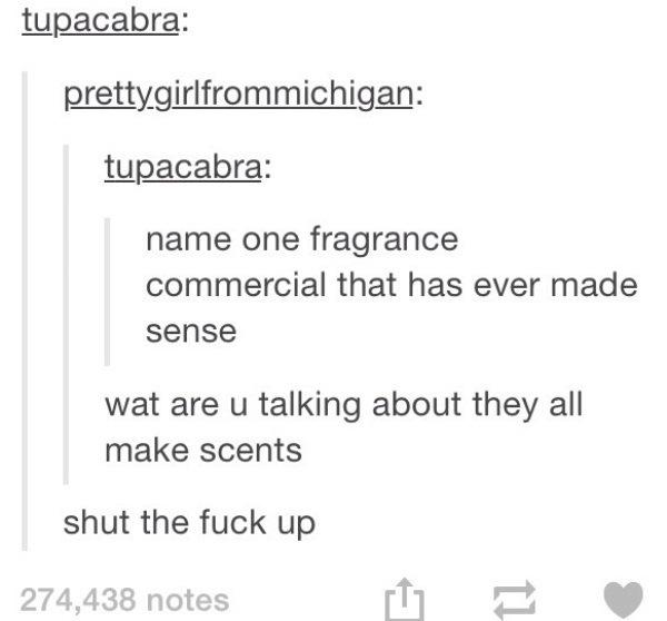 Fragrance Makes Sense