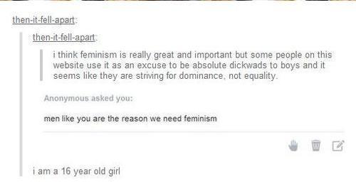 Girl Wants Equality
