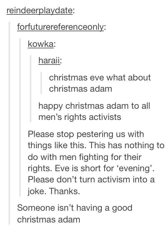 Good Christmas Adam
