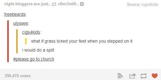 Grass Licking