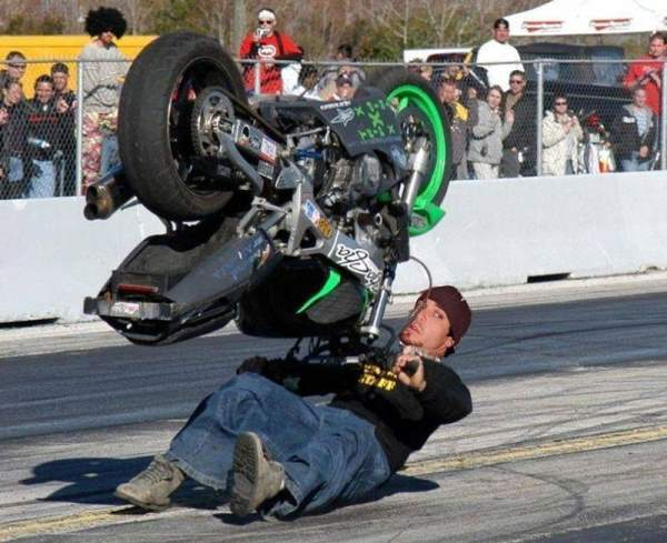 Motorcycling Perfect Timing