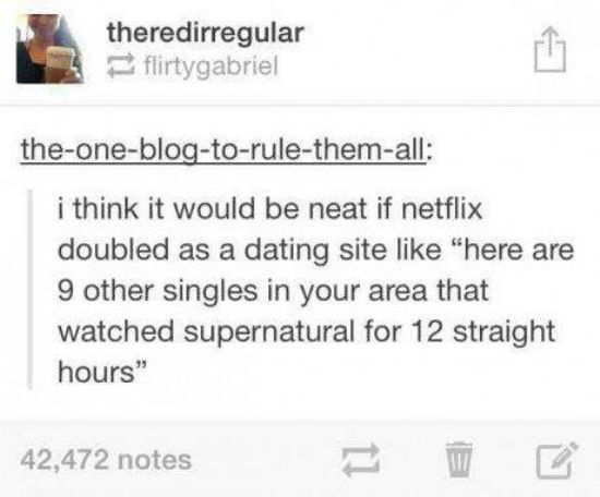 Netflix As A Dating Site