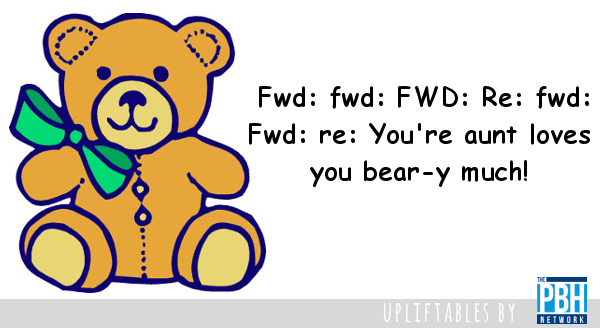 email fwd bear